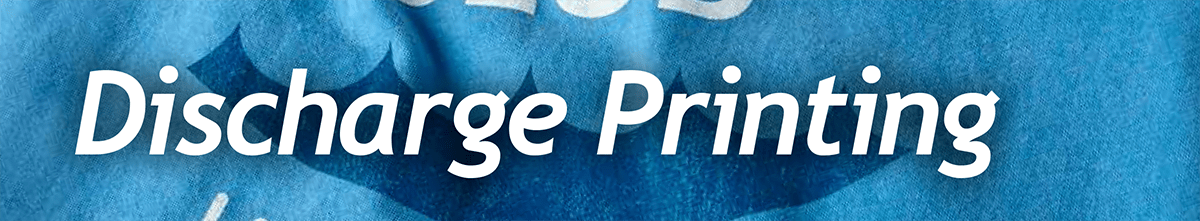 Learn What Discharge Printing is and Discharge Printing Tips