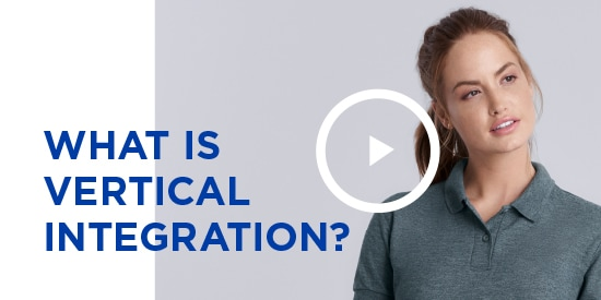 What is vertical integrartion? | Gildan® USA