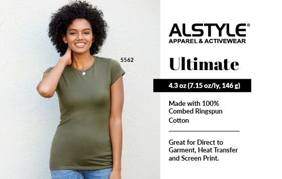 Blank Apparel Wholesale! Shop Ultimate, View Ultimate Collection from Alstyle Canada