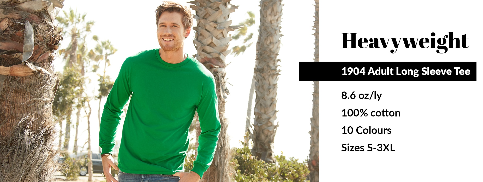 View our 1904 Adult Long Sleeve Tee from Alstyle Canada