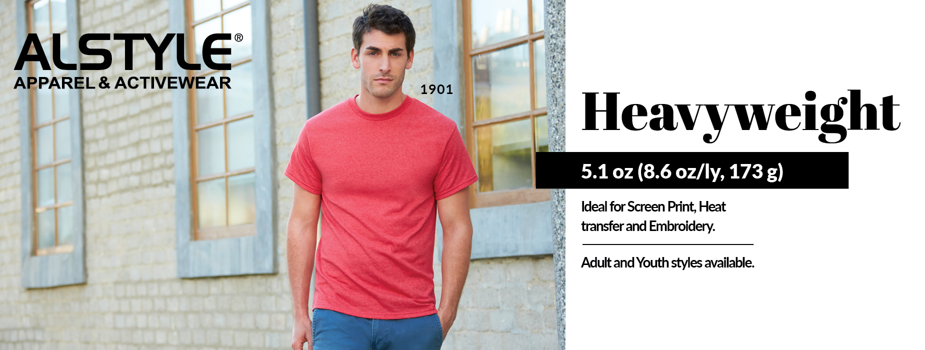 Blank Apparel Wholesale! Shop Heavyweight, View Heavyweight Collection from Alstyle Canada