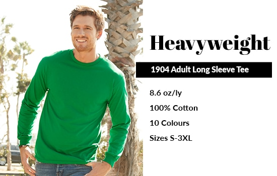 Shop our 1904 Adult Long Sleeve Tee from Alstyle Canada