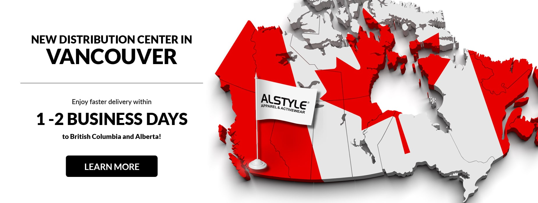 New Vancouver Distribution Center for Alstyle Canada