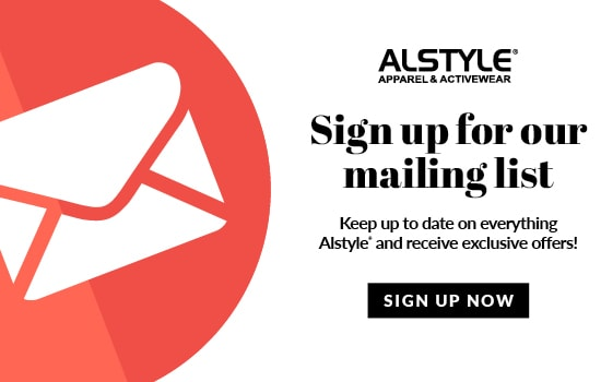 Join our mailing list for all the latest news from Alstyle Canada