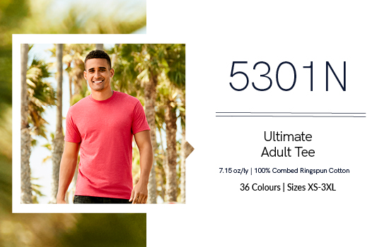 Shop our 5301N Adult Tee from Alstyle Canada