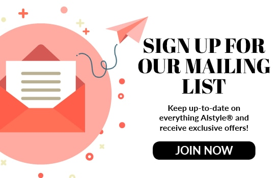 Join our mailing list at Alstyle Canada