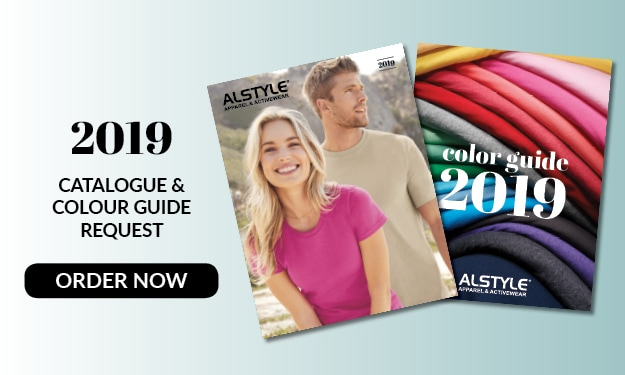 Order now our 2019 Catalogue and Color Guide from Alstyle Canada
