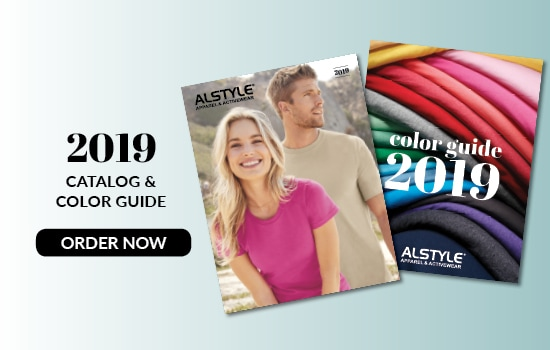 Order now our 2019 Catalogue and Color Guide from Alstyle USA