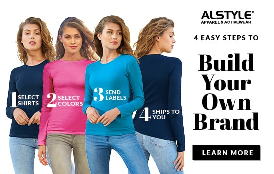 Build your own brand with Alstyle