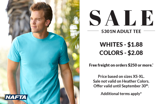 Shop now for your 5301N Adult Tees on Sale