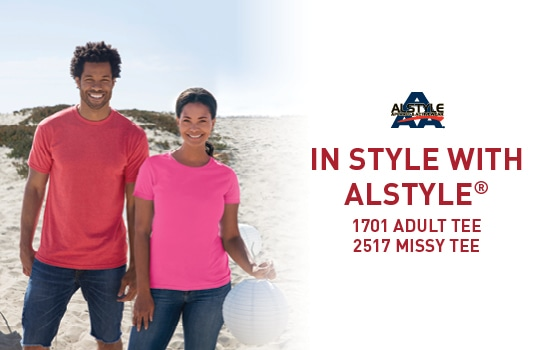 Shop 2517 and 1701, get in Style with Alstyle USA bestsellers
