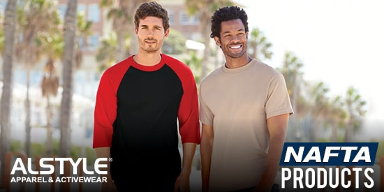 View our NAFTA Alstyle Apparel & Activewear products