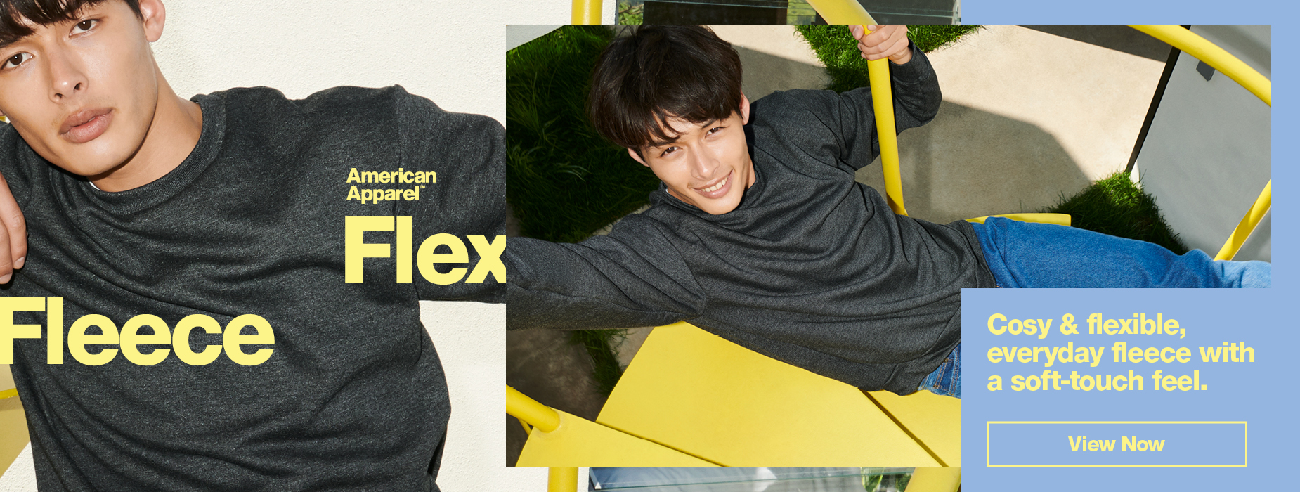 View Now our Flex Fleece Collection. Cosy & Flexible, everyday fleece with a touch of soft-touch feel | American Apparel Europe