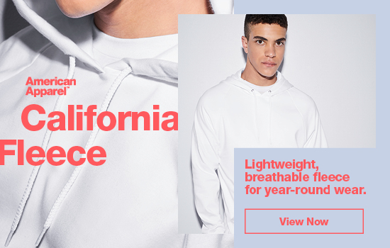 View Now our California Fleece. Lightweight, breathable fleece for year-round wear | American Apparel Europe