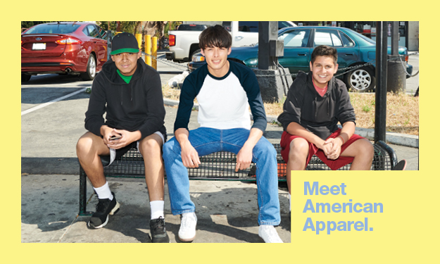 View Now to Meet American Apparel Europe.
