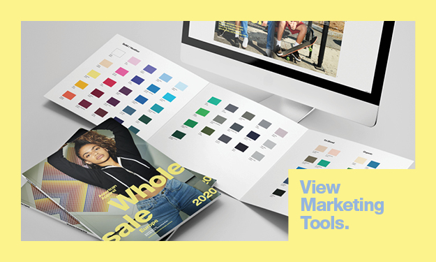 View Now our Marketing Tools page | American Apparel Europe