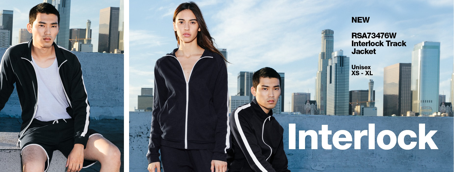 RSA73476W Interlock Track Jacket