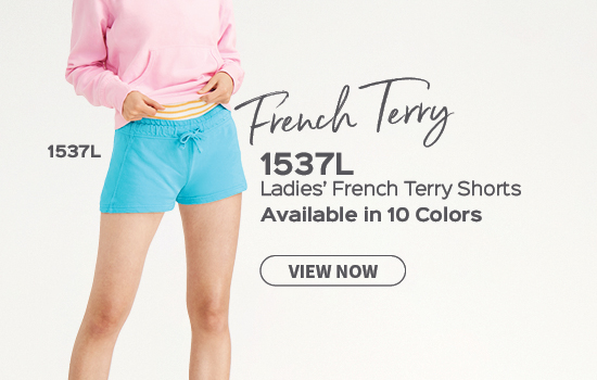 View Ladies French Terry short