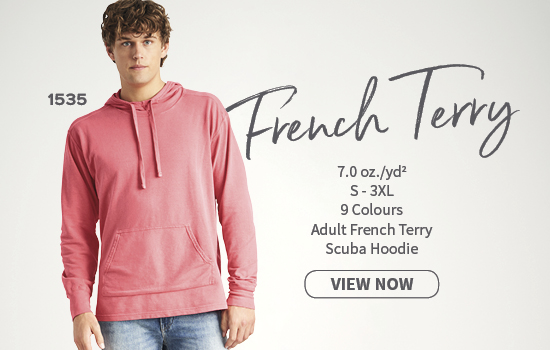 View now 1535 Adult French Terry Scuba Hoodie