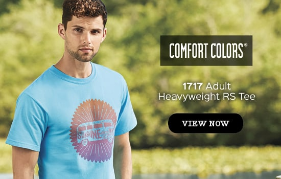 View 1717 Adult Tee from Comfort Colors