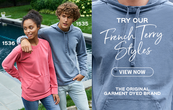 View now French Terry Styles