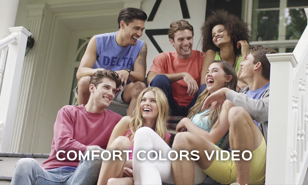 Watch our Comfort Colors t-shirts video