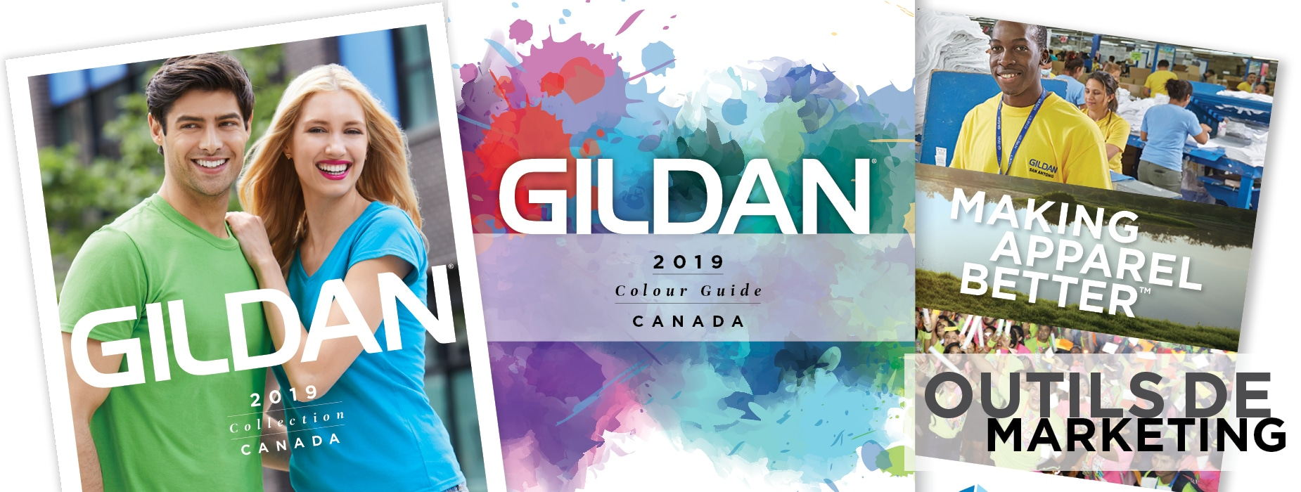 2019 Gildan Canada Outils marketing