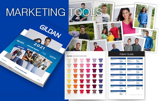 2021 Gildan Canada Marketing Tools