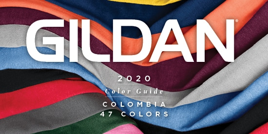 2020 Gildan Colombia Color Guide