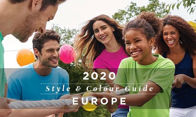 2020 Style & Colour Guide | Gildan® Europe