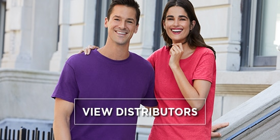 Find a distributor near you | Gildan® Europe