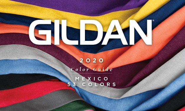 2020 Gildan® Mexico Color Guide