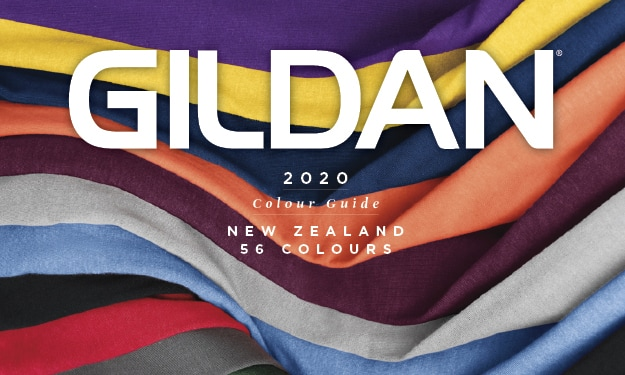 Download our 2020 Colour Swatch Card for FREE | Gildan® New Zealand