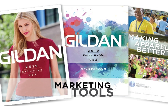 2019 Gildan Marketing Tools