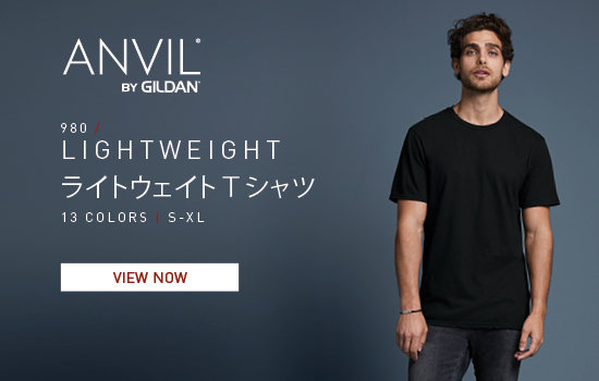 iew now ANVIL by Gildan Japan 980, Adult T-Shirt | Gildan® Brands Japan