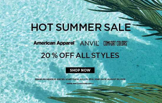 Shop now for our Gildan Brands Japan Hot Summer Sales promotion