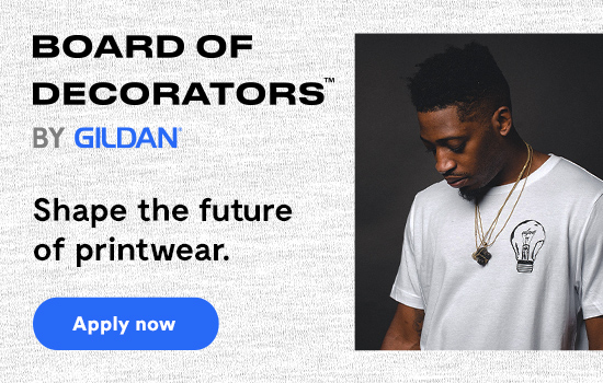 Apply Now to our Board of Decorators by Gildan