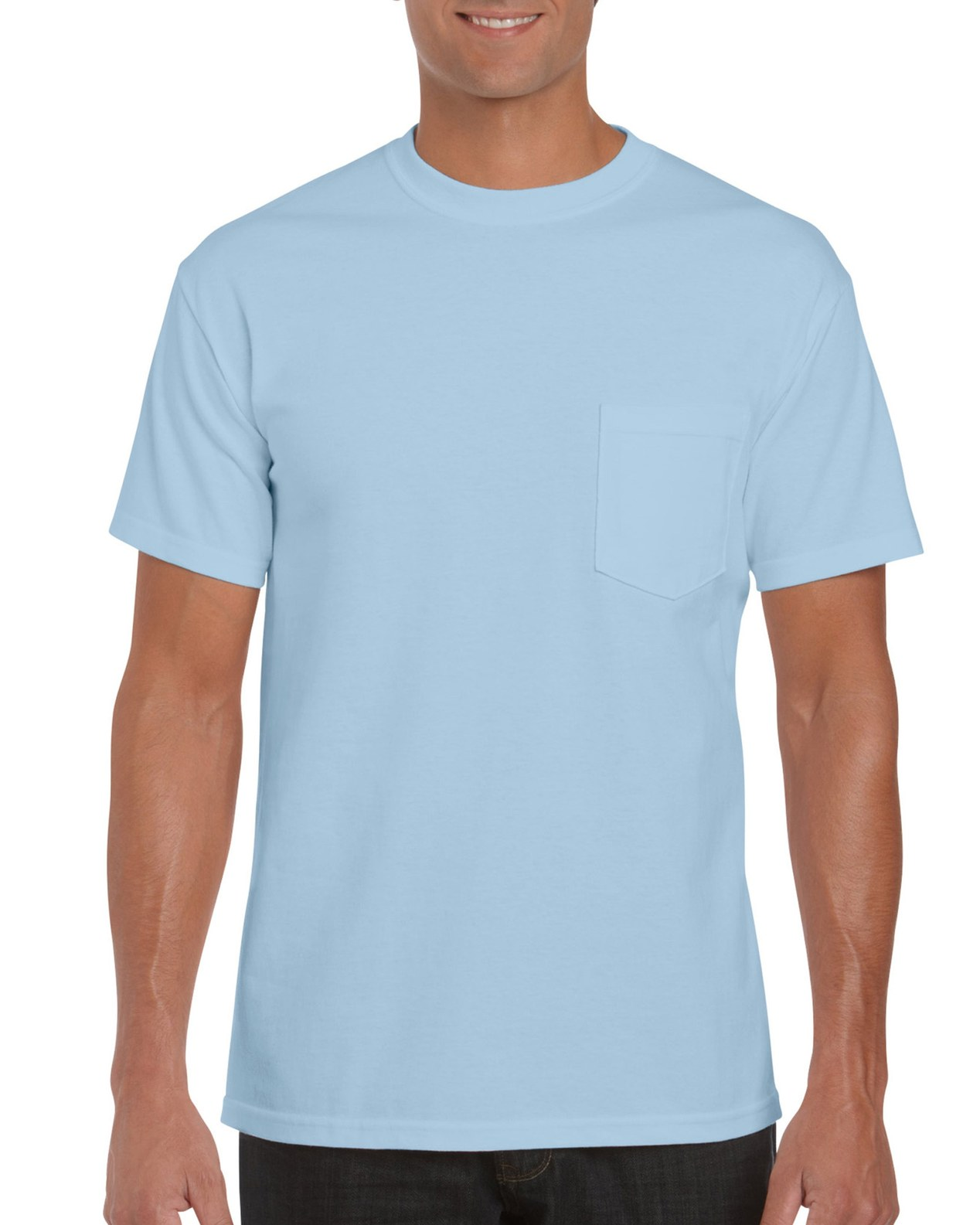 2300 gildan ultra cotton 6 0 oz yd adult t shirt for Blue t shirt template