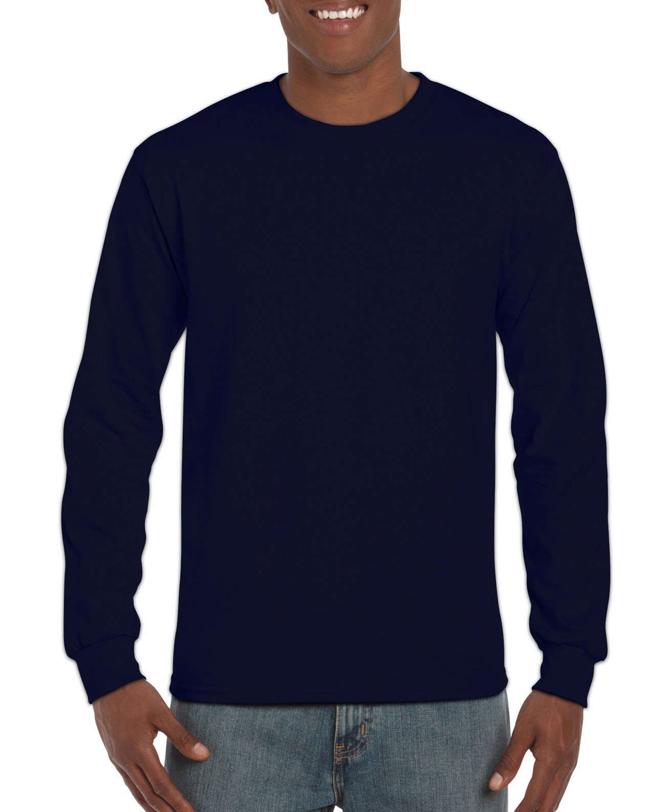 f49f79b2 2400 | Gildan® Ultra Cotton® | 6.0 oz/yd² | Adult Long Sleeve T ...