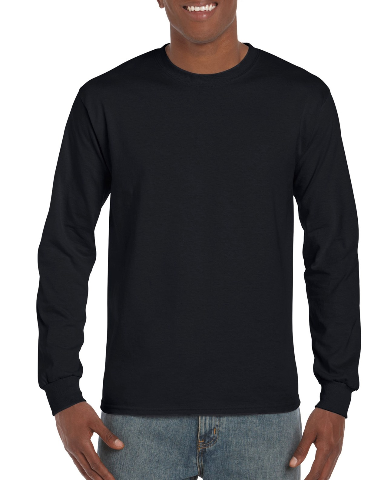 2400 | Gildan® Ultra Cotton® | 6.0 oz/yd² | Adult Long Sleeve T ...