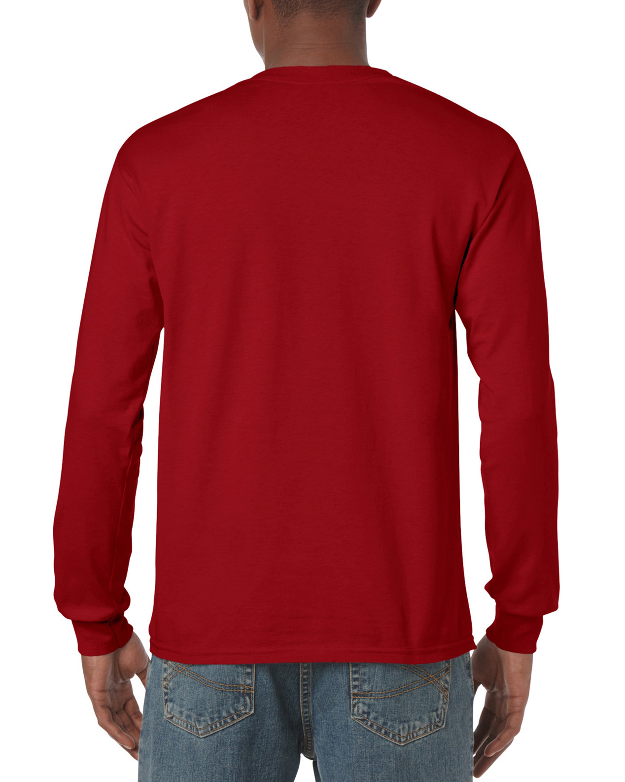 5400 | Gildan® Heavy Cotton™ | 5.3 oz/yd² | Adult Long Sleeve T ...