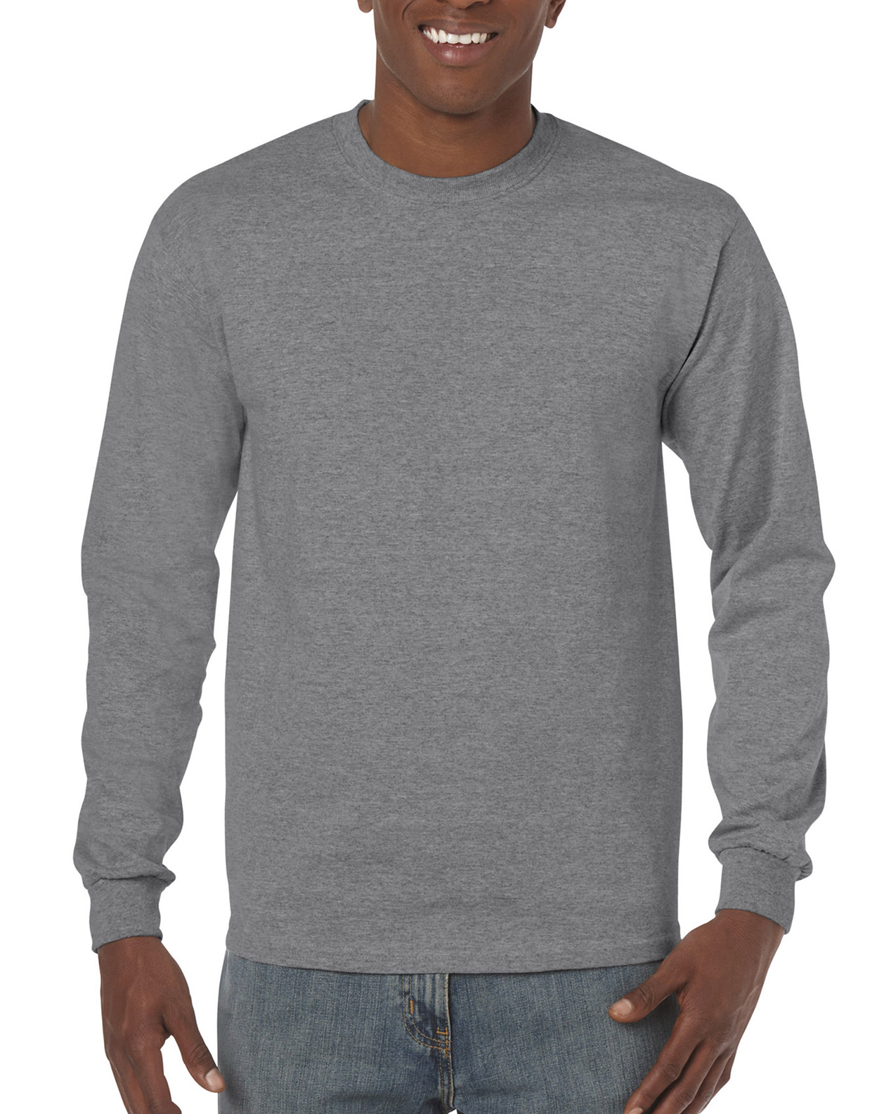6419cb6772f5 5400 | Gildan® Heavy Cotton™ | 5.3 oz/yd² | Adult Long Sleeve T ...