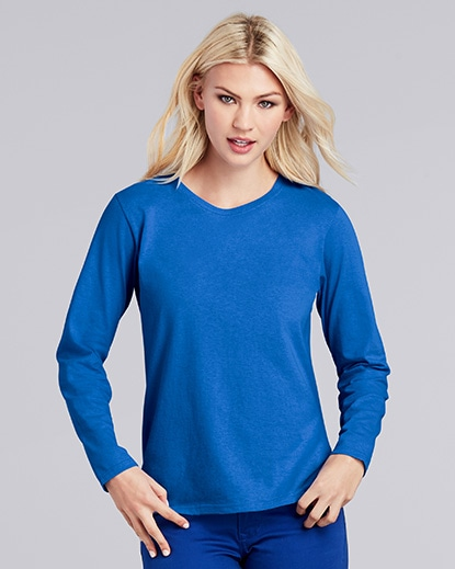 Ladies' Long Sleeve T-Shirt. Compare