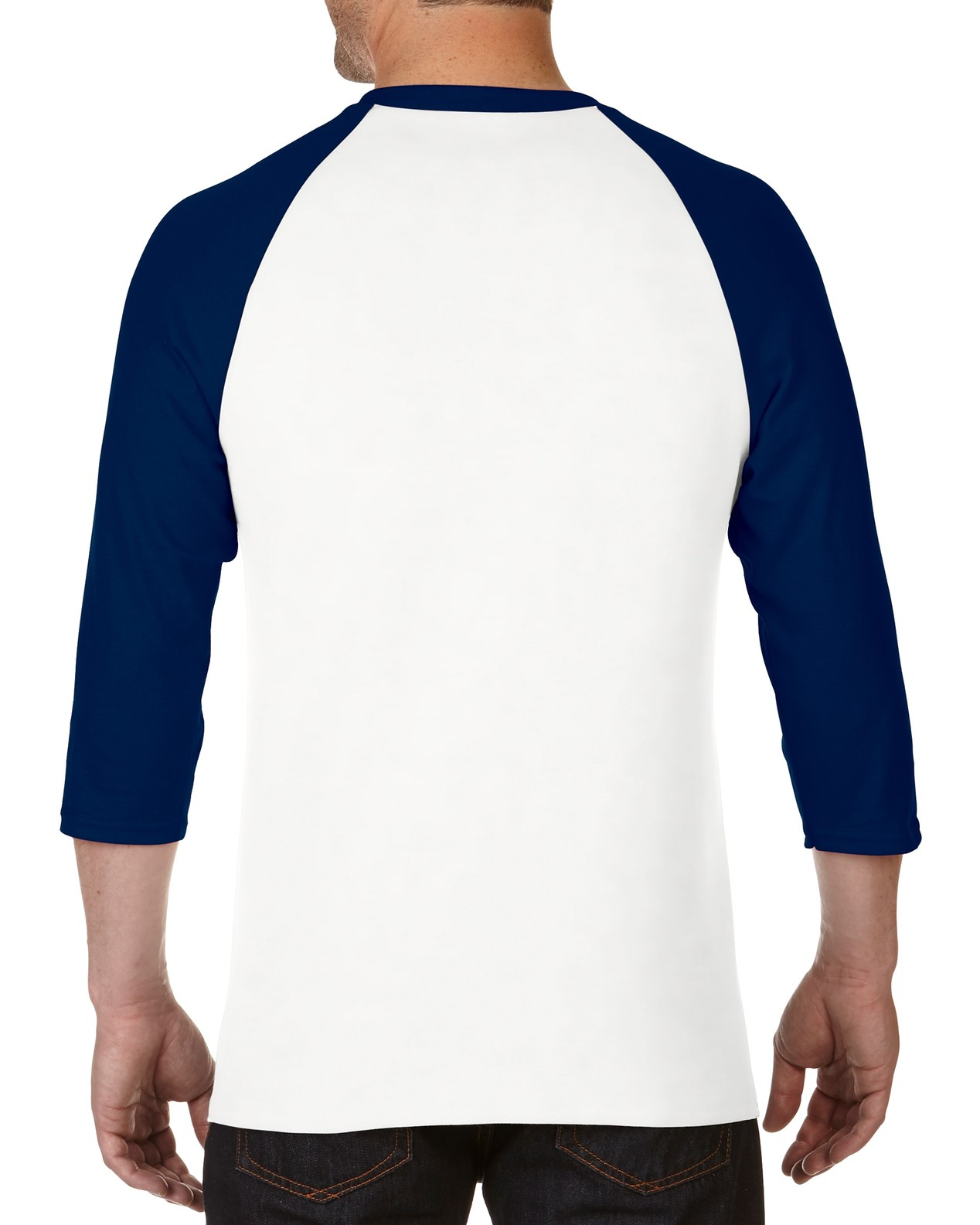e1dc20f8f957e7 5700 | Gildan® Heavy Cotton™ | 5.3 oz/yd² | Adult 3/4 Raglan T-Shirt ...